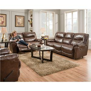 Calloway Reclining Living Room Group By Franklin .