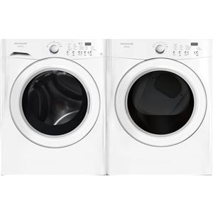 washer and dryer set energy star 37 cu ft frontload washer and 70 cu ft electric dryer set with nsf certified allergen cycle by frigidaire - Frigidaire Affinity Dryer