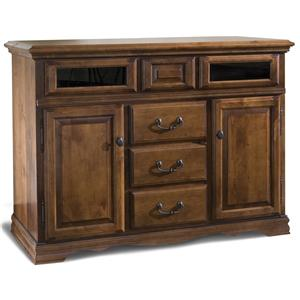 Alder Hill Media Lift Console By Furniture Traditions