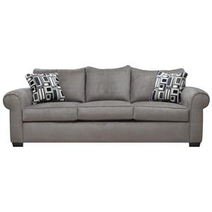 Great Platinum Casual Couch Sofa Sleeper With Three Seat Construction By Gomen  Furniture