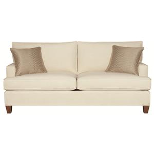 Park Avenue Contemporary Styled Sofa Two Cushions By HGTV Home Furniture Collection