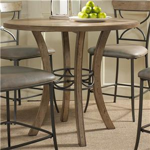 Merveilleux Wood Counter Height Table