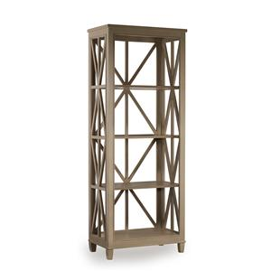 Mélange Holden Etagére Bookcase With Open Geometric Frame By Hooker  Furniture