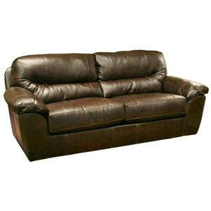 brantley casual and comfortable family room sofa by jackson furniture