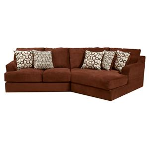 Malibu Sectional Sofa 3 Piece Sectional In Taupe Adobe Or