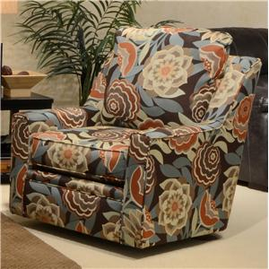 Sutton Swivel Chair With Casual Style By Jackson Furniture