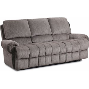 McArthur Double Reclining Sofa With Nail Head Trim By Lane