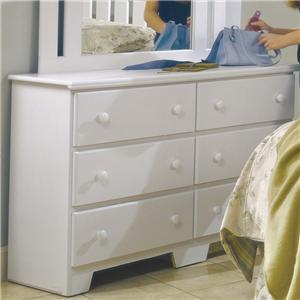 49 Inch 6 Drawer Dresser