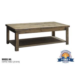 Joshua Creek Joshua Creek Coffee Table By Legends Furniture
