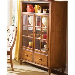 Low Country Curio Cabinet With Touch Lighting By Liberty Furniture