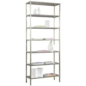 Wood Contemporary Pickford Tower Bookcase By Lillian August
