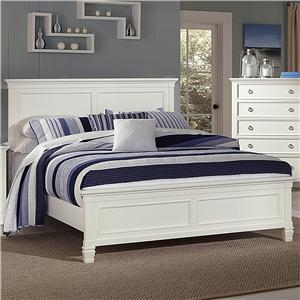 New Classic Tamarack White Full Bed