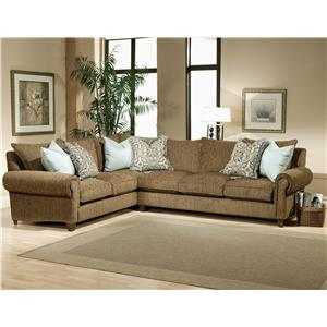 Rocky Mountain Love Seat And Sofa Sectional By Robert Michael