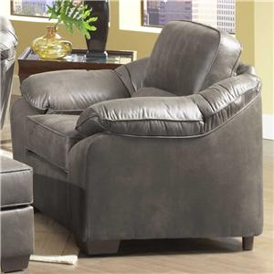 3800 Comfortable Accent Chair By Serta Upholstery By Hughes Furniture