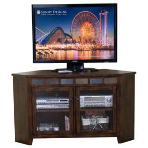 55 Inch Corner TV Console