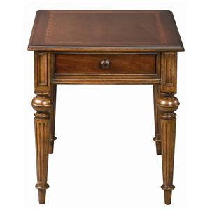 Fredericksburg Rectangular End Table With One Drawer By ThomasvilleR