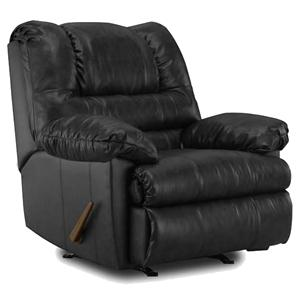 6152 Casual Styled Rocker Recliner With Pillow Top Padding By United  Furniture Industries