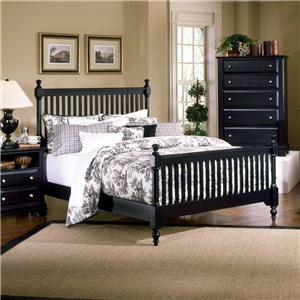 King Slat Poster Bed