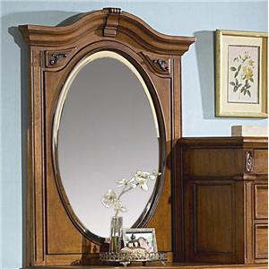 Southern Heritage Traditional Chesser Mirror By Vaughan Furniture