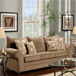 beige furniture. maya bark casual beige rolled arm sofa by washington furniture i