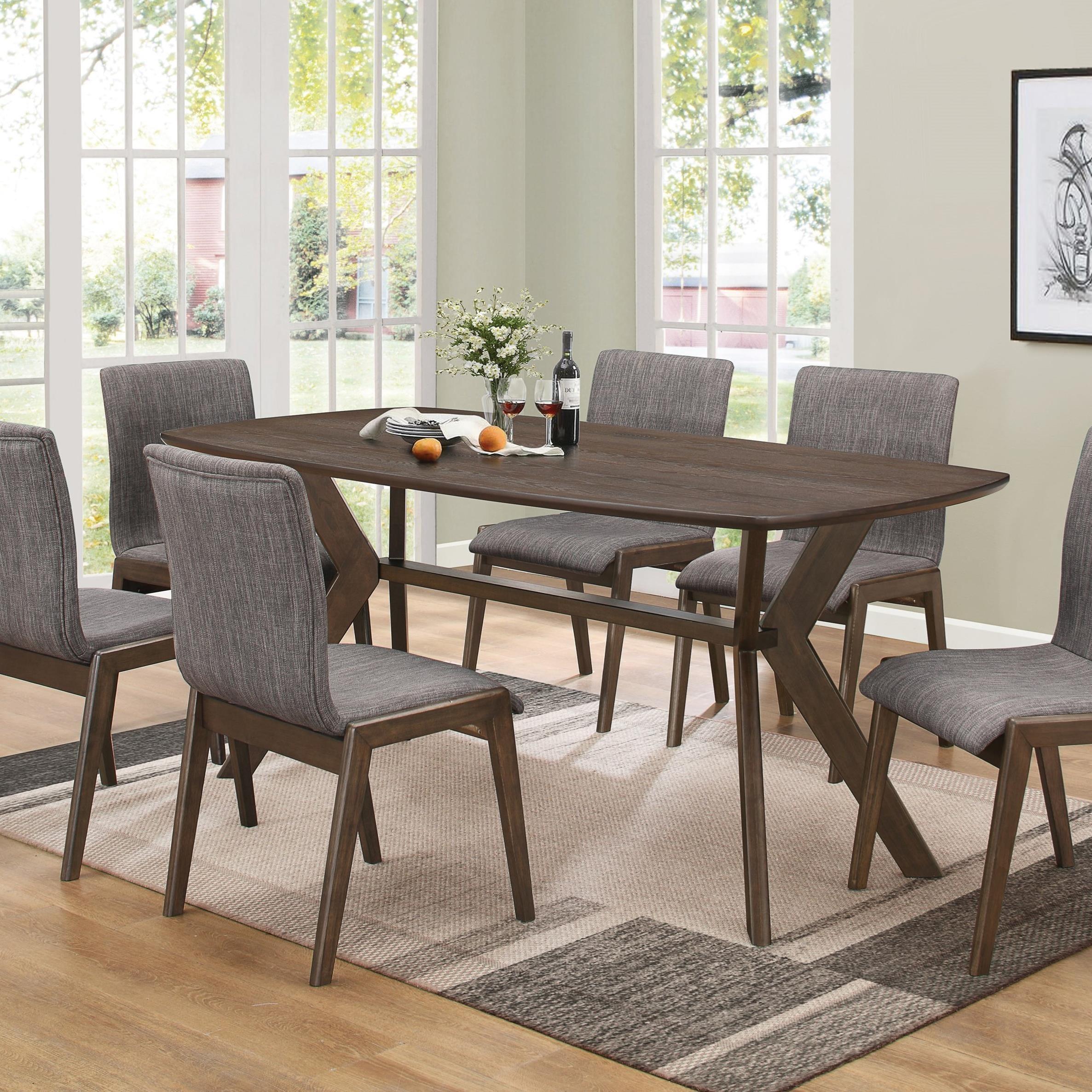 Mcbride Coaster Retro Dining Room Table City