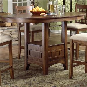 Hamilton spill at dining tables for Bar style kitchen table