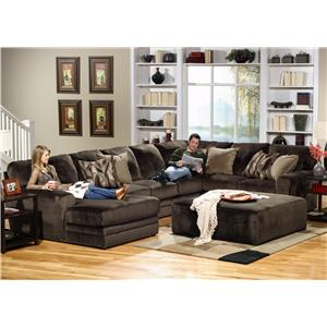Jackson Furniture 4377 Everest 3 Piece Sectional with LSF