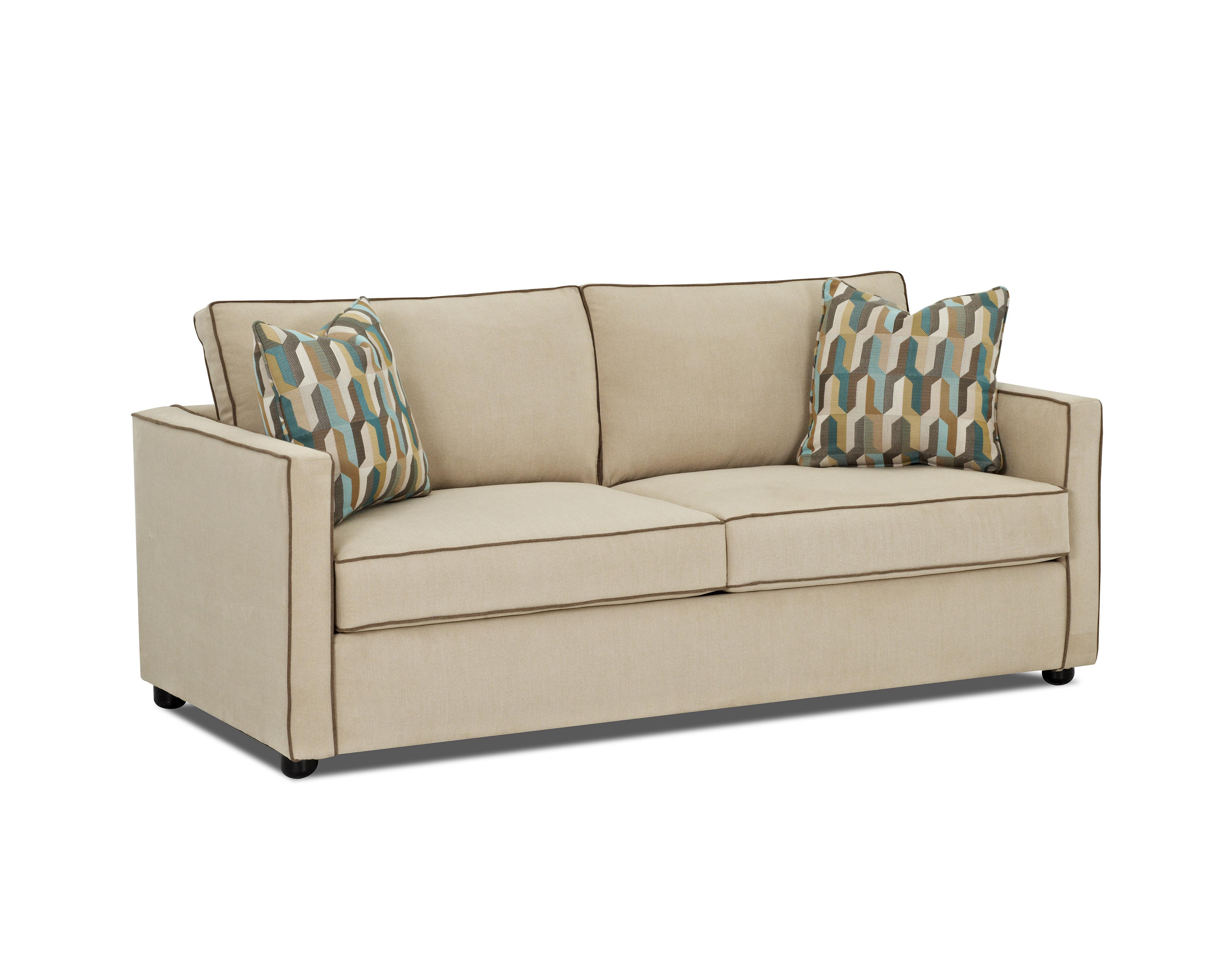 pendry contemporary queen enso memory foam sleeper sofa. Black Bedroom Furniture Sets. Home Design Ideas
