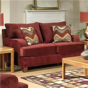 Serta Upholstery by Hughes Furniture Loveseats Store