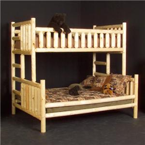 Viking Log Furniture at BunkBedDealers Bunk Beds and