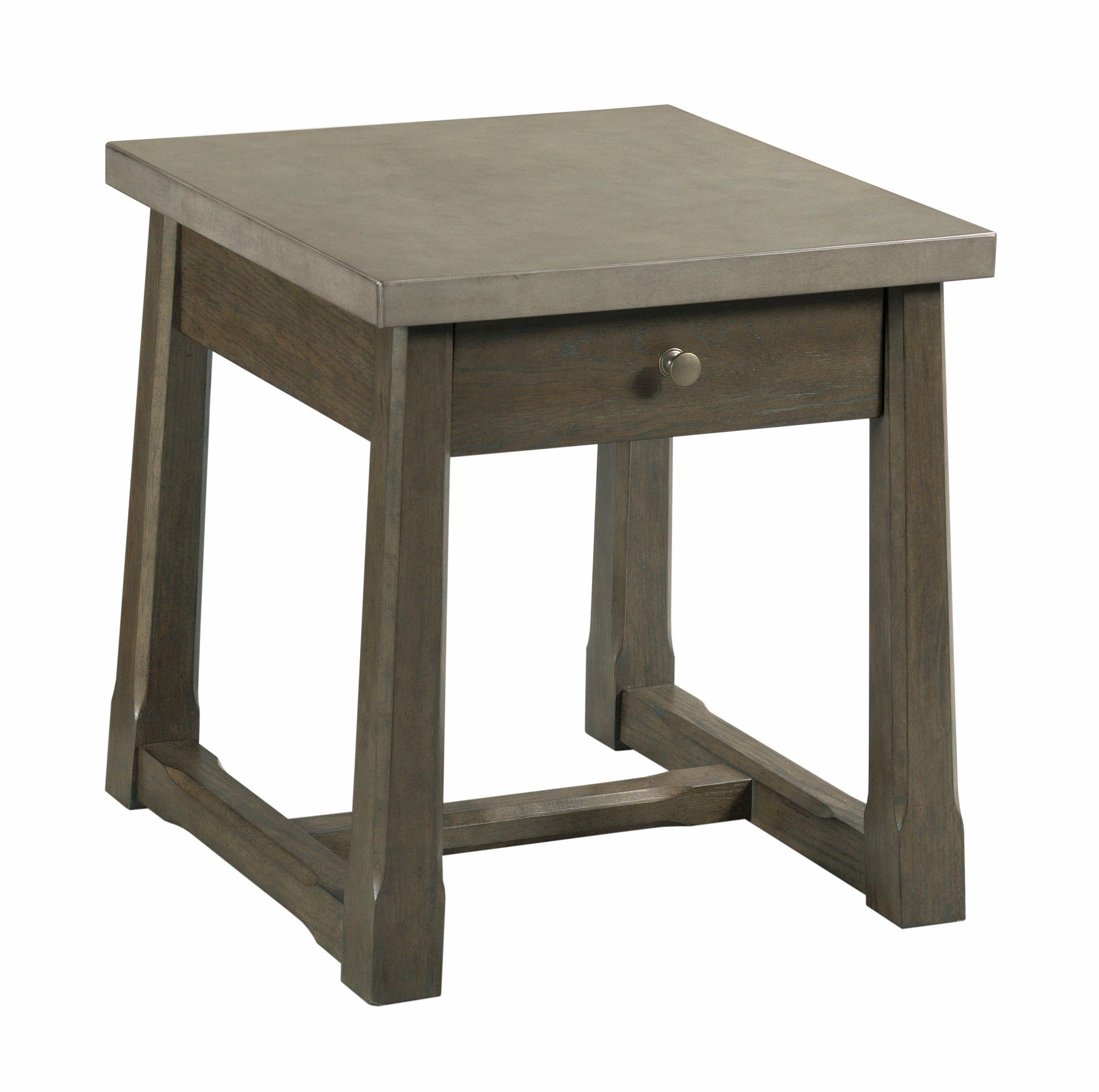 Torres Rectangular Drawer End Table by Hammary at Crowley Furniture & Mattress