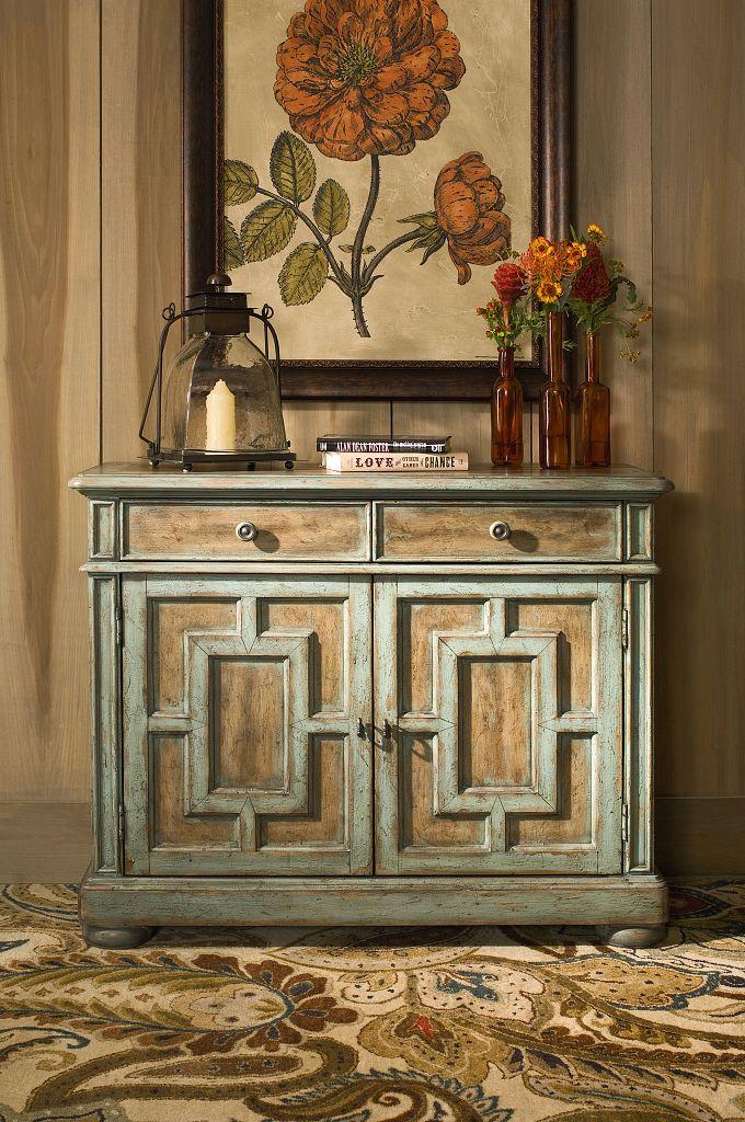 Hidden Treasures Door Cabinet by Hammary at Mueller Furniture