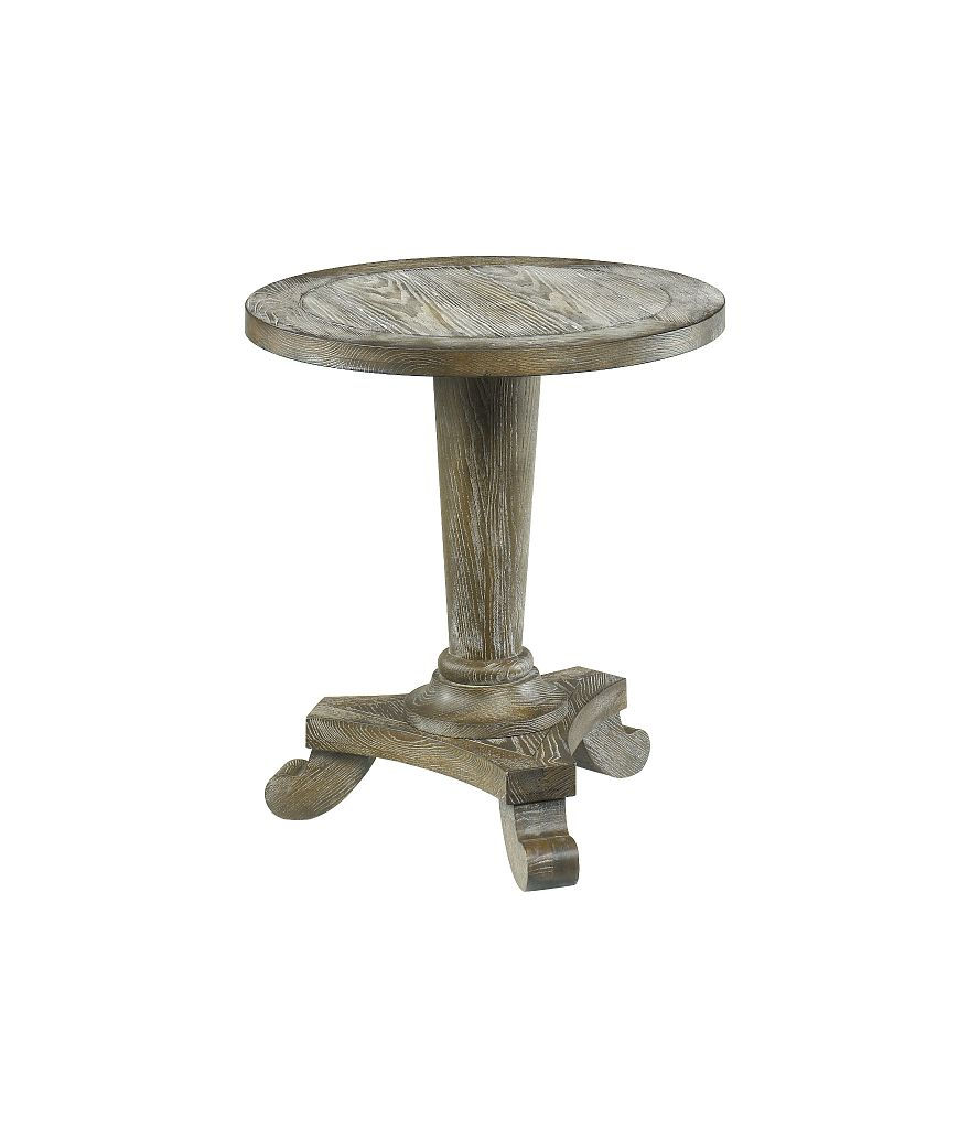 Hidden Treasures Round Pedestal Table by Hammary at Home Collections Furniture