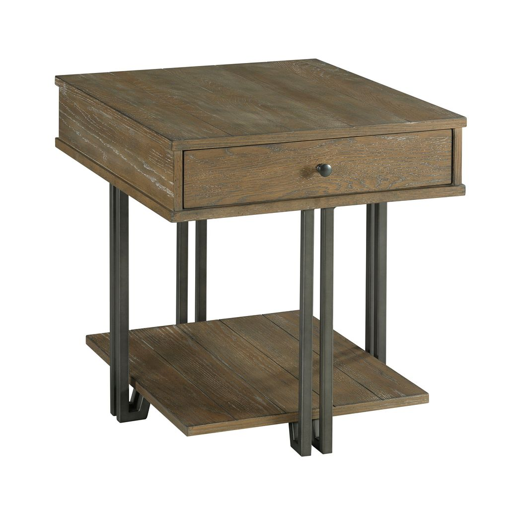 Saddletree Rectangular Drawer End Table by Table Trends at Sprintz Furniture