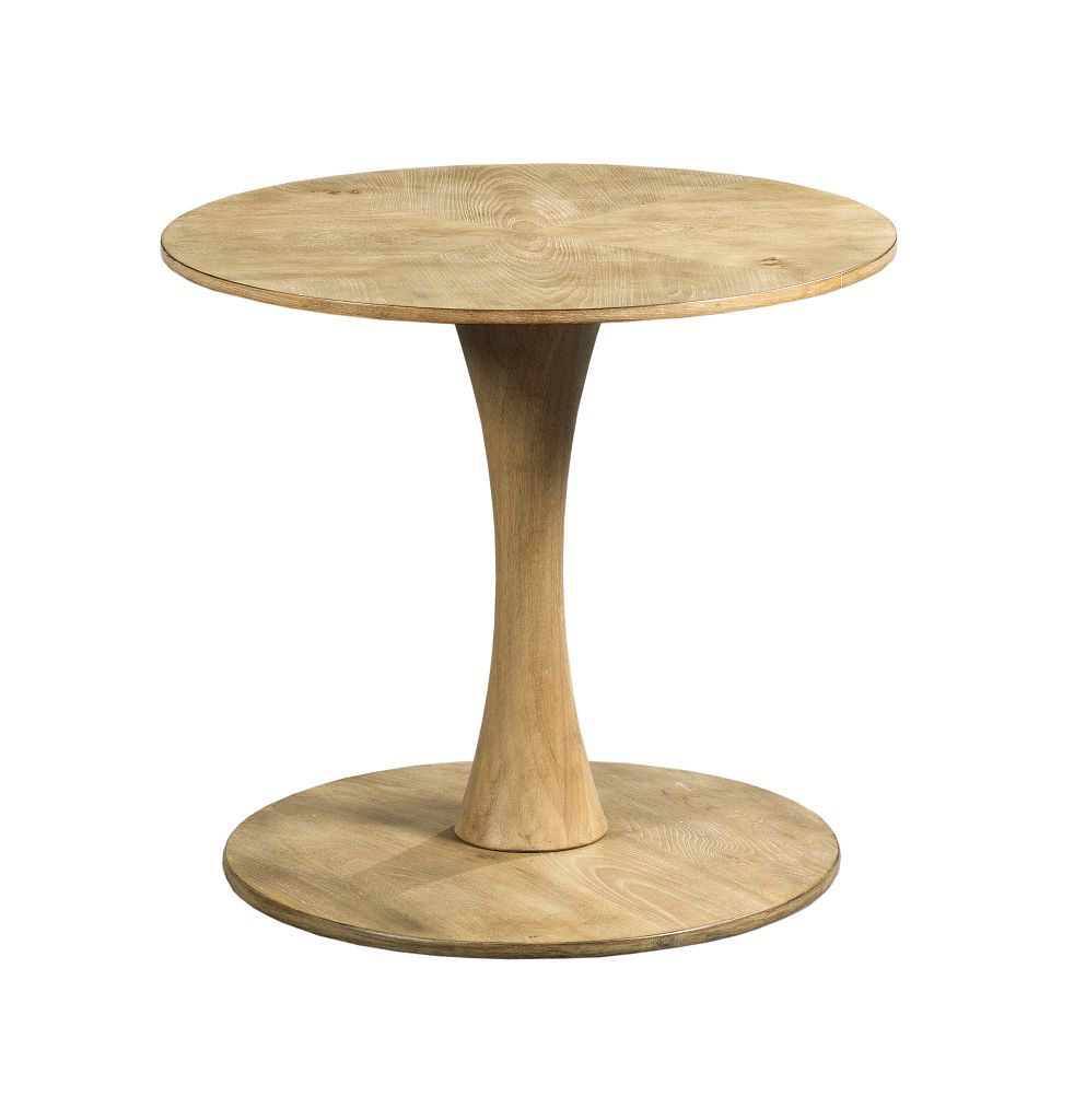 Oblique Chairside Table by Hammary at Red Knot