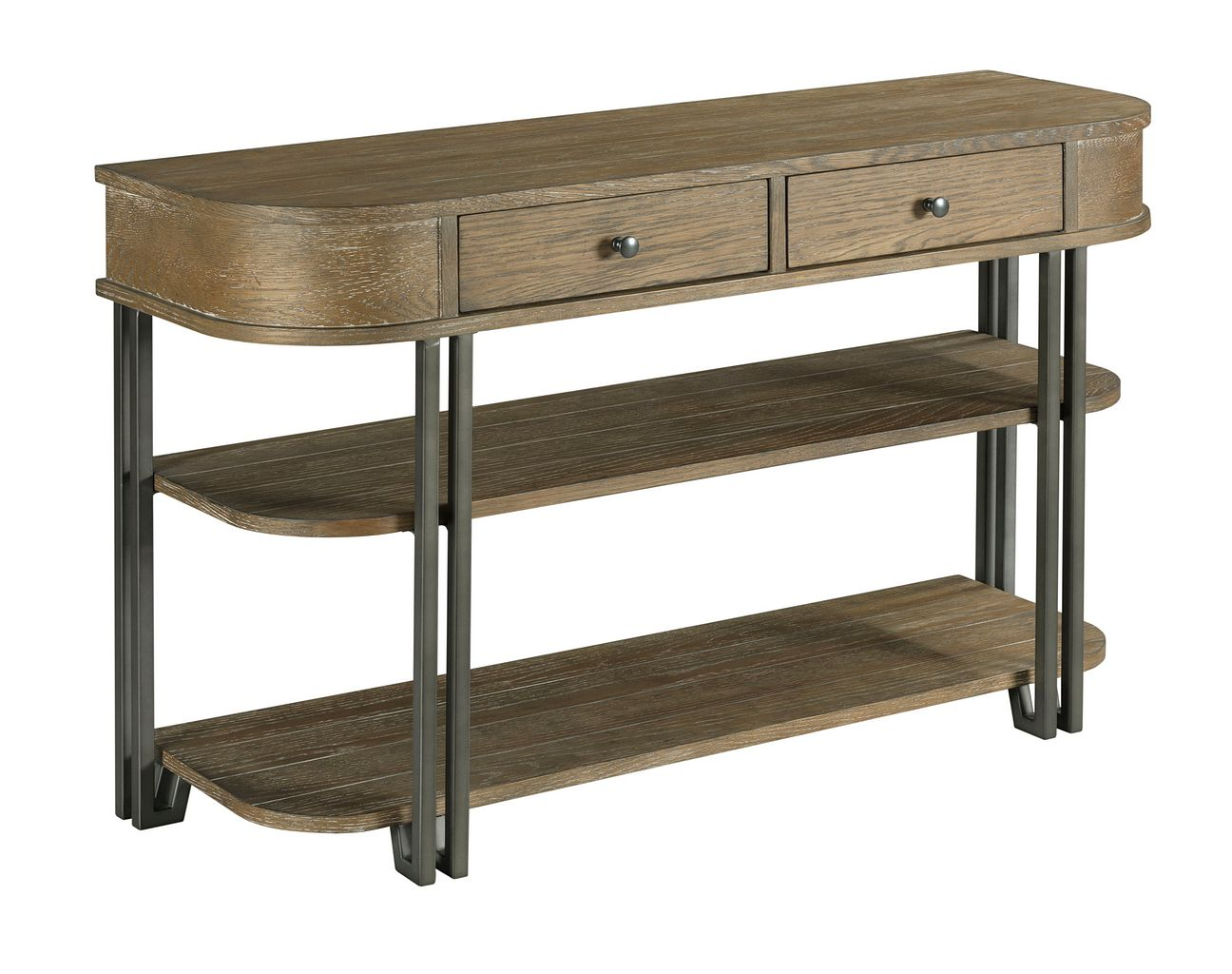 Saddletree Sofa Table by Hammary at Jacksonville Furniture Mart