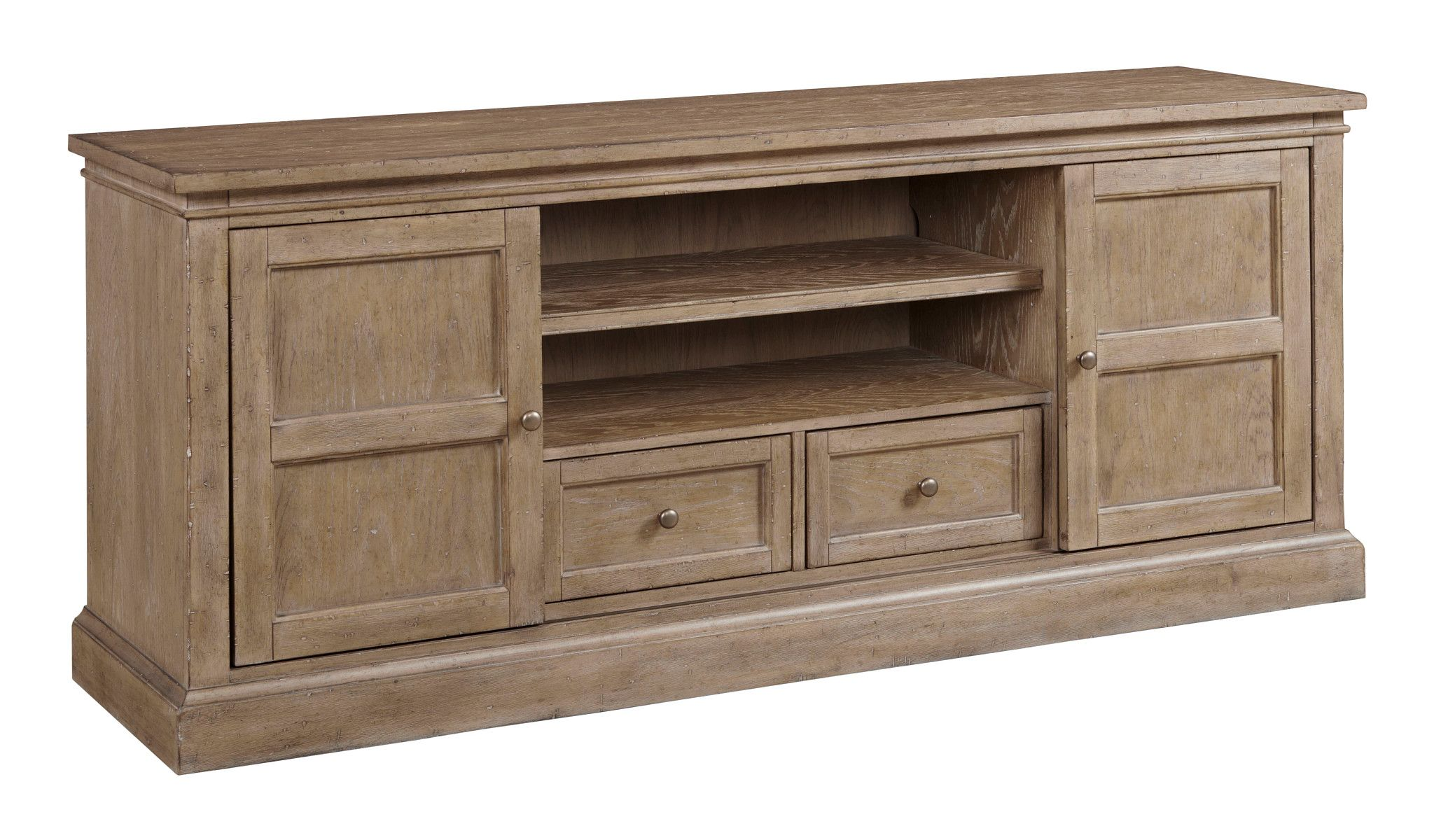 """Donelson 76"""" Entertainment Console by Hammary at Mueller Furniture"""