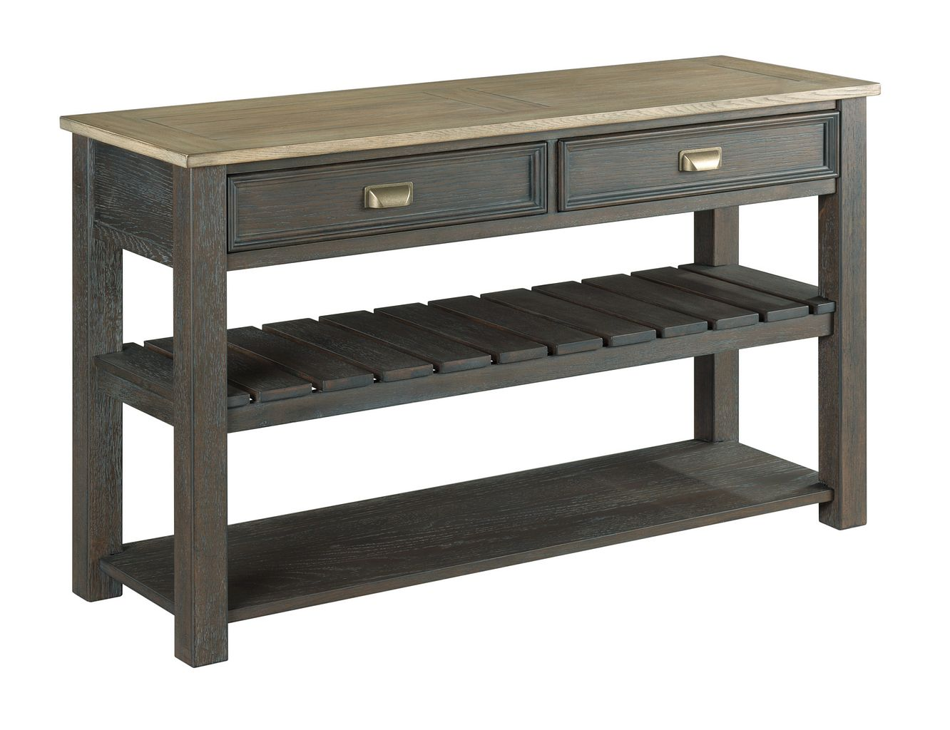 Lyle Creek Sofa Console Table by Hammary at Jacksonville Furniture Mart