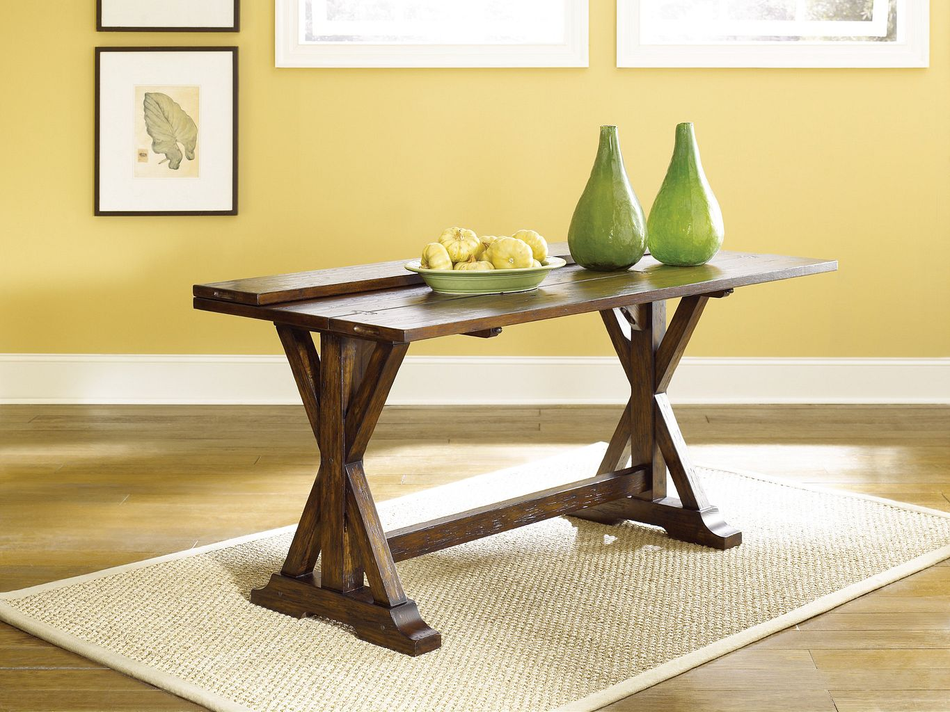 Flip-Top Console Table