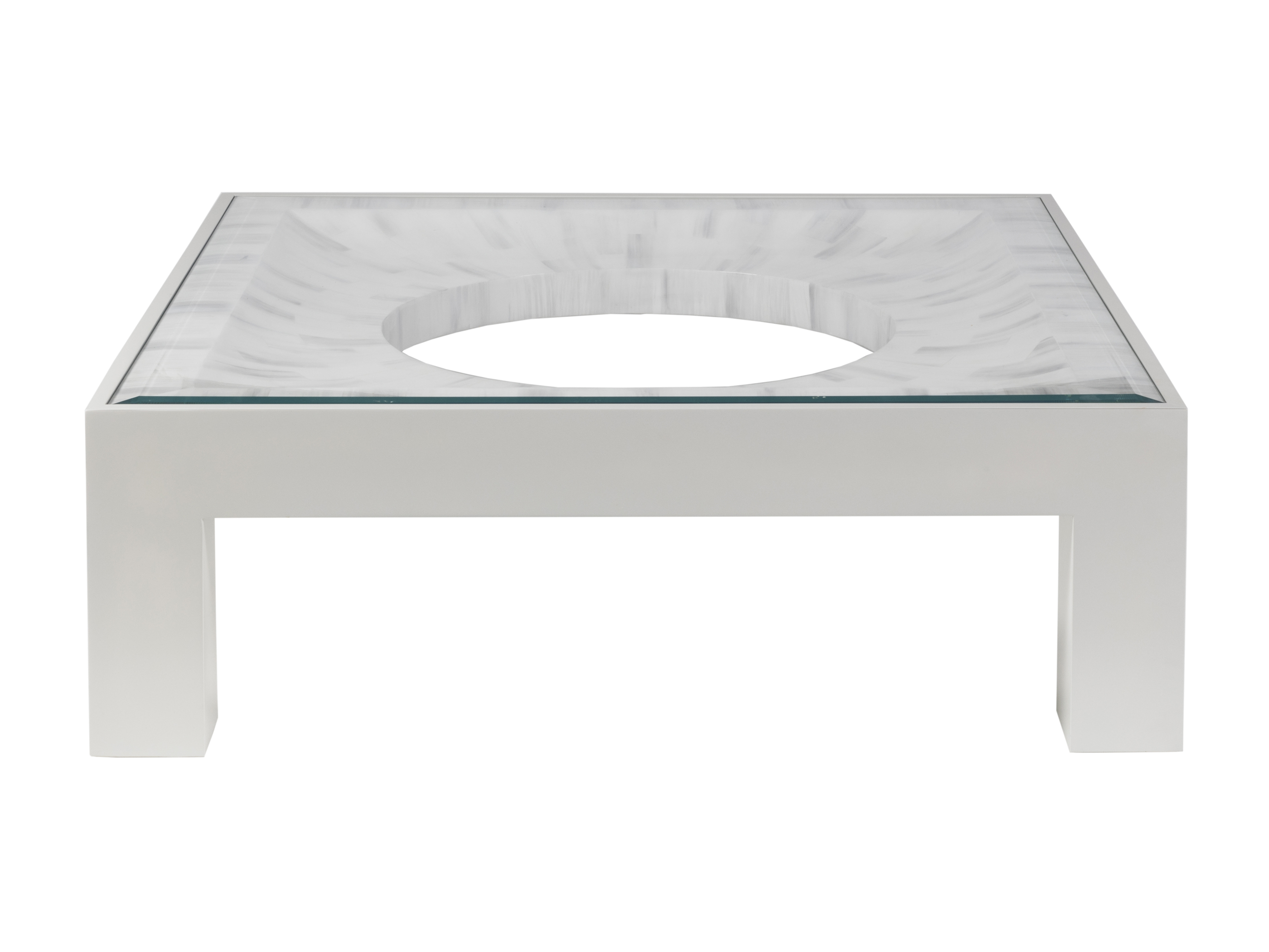 Elation Square Cocktail Table by Artistica at Baer's Furniture