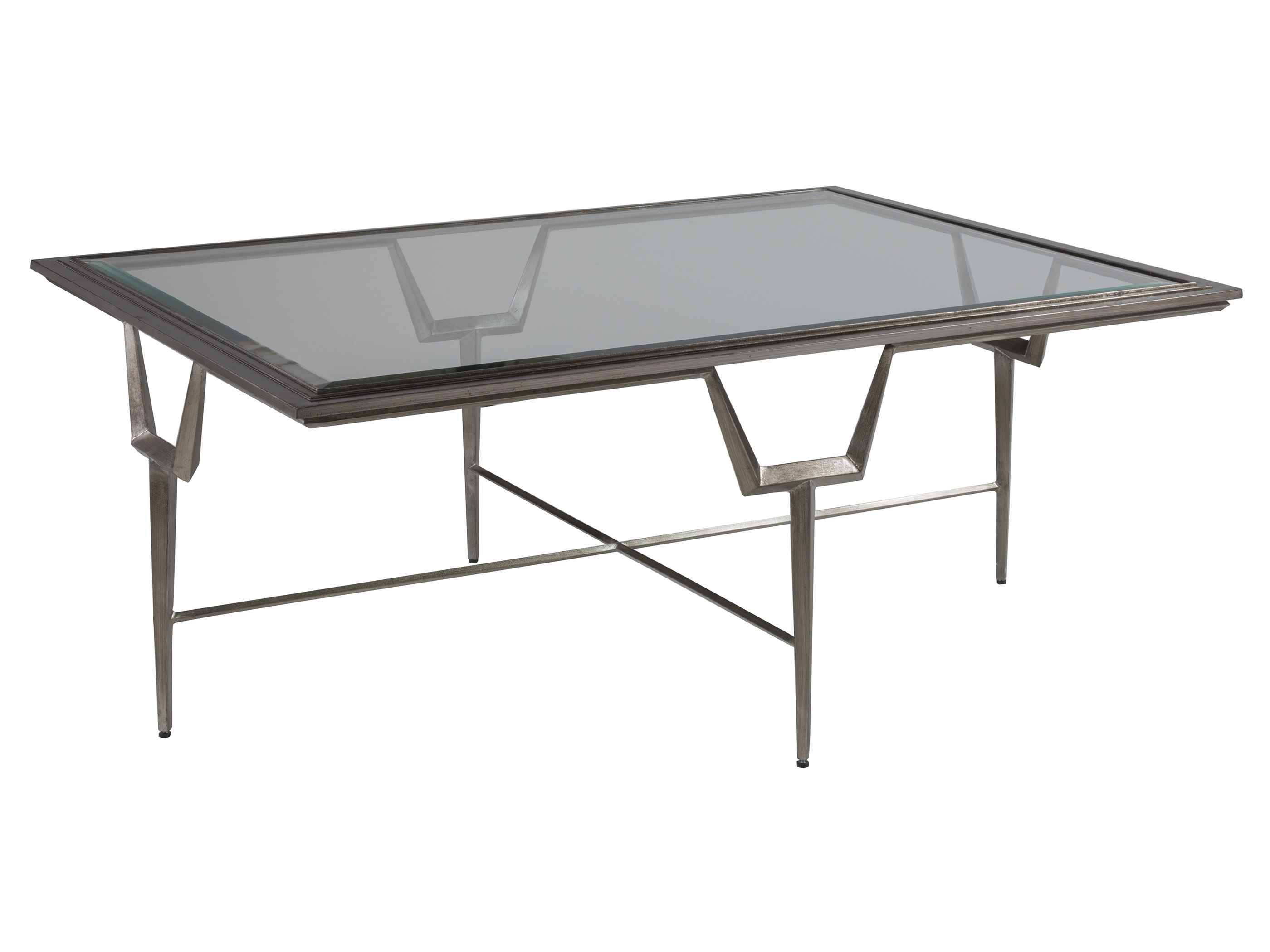 Voila Rectangular Cocktail Table by Artistica at Sprintz Furniture