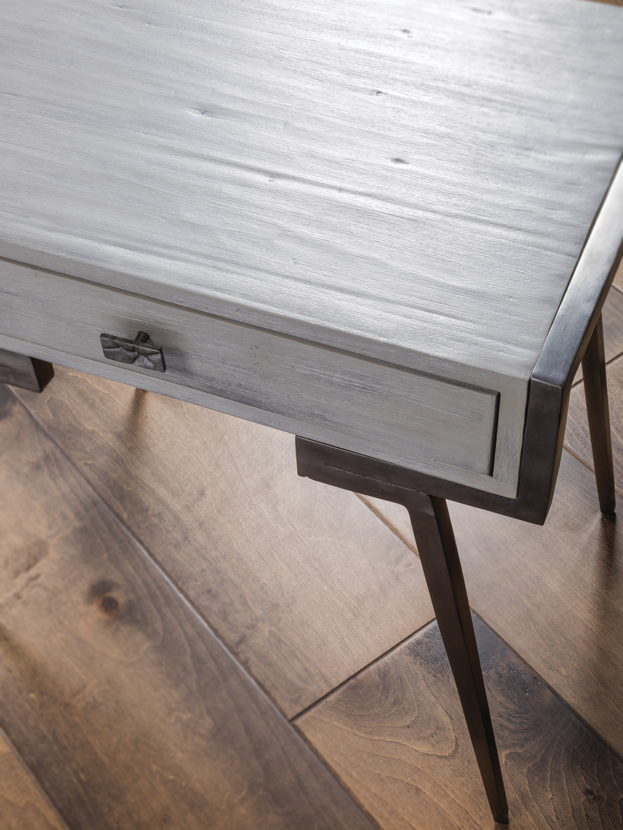 Alfie Rectangular End Table by Artistica at Baer's Furniture