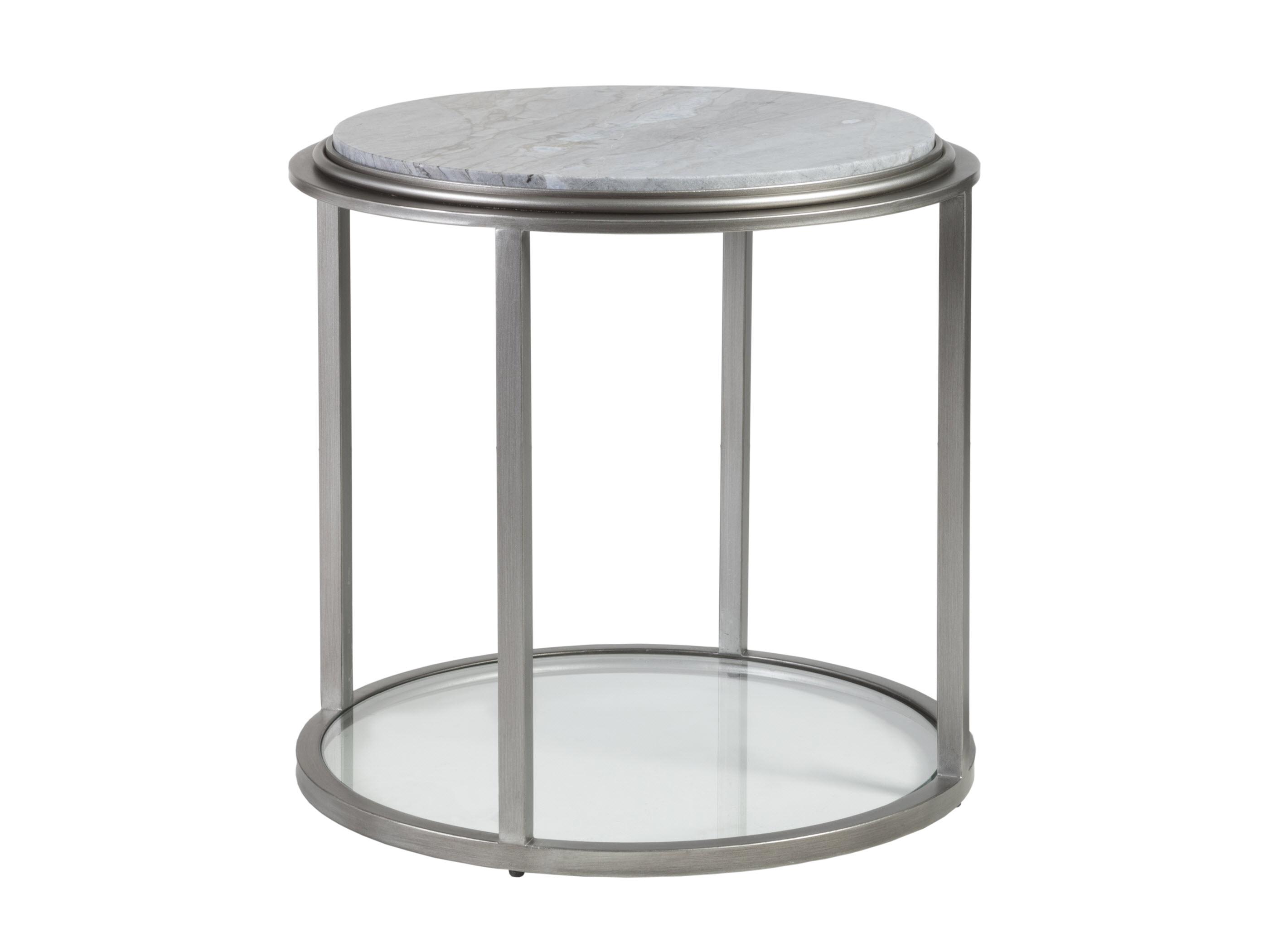 Treville Round End Table by Artistica at Sprintz Furniture