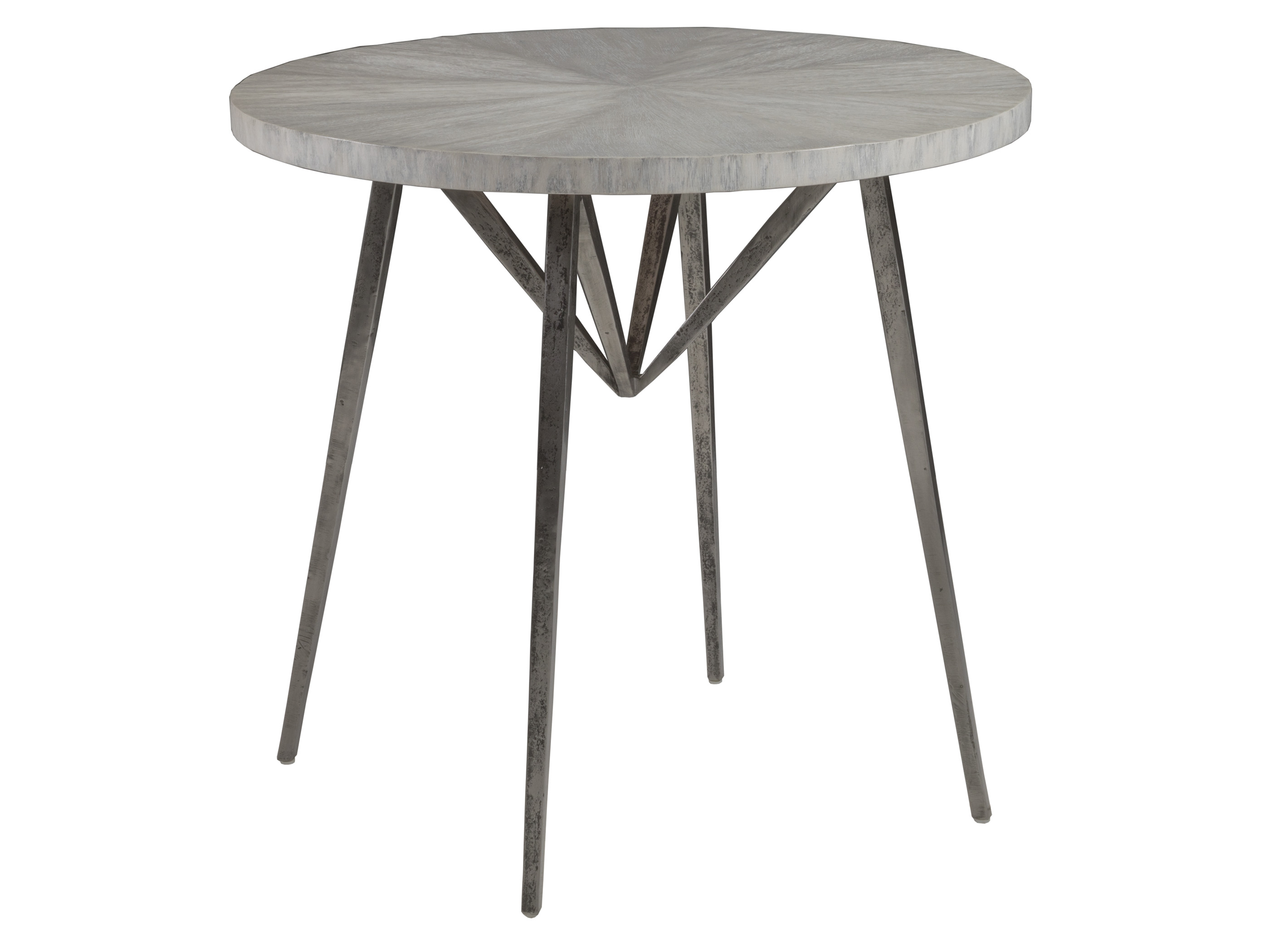 Alfie Round End Table by Artistica at Baer's Furniture