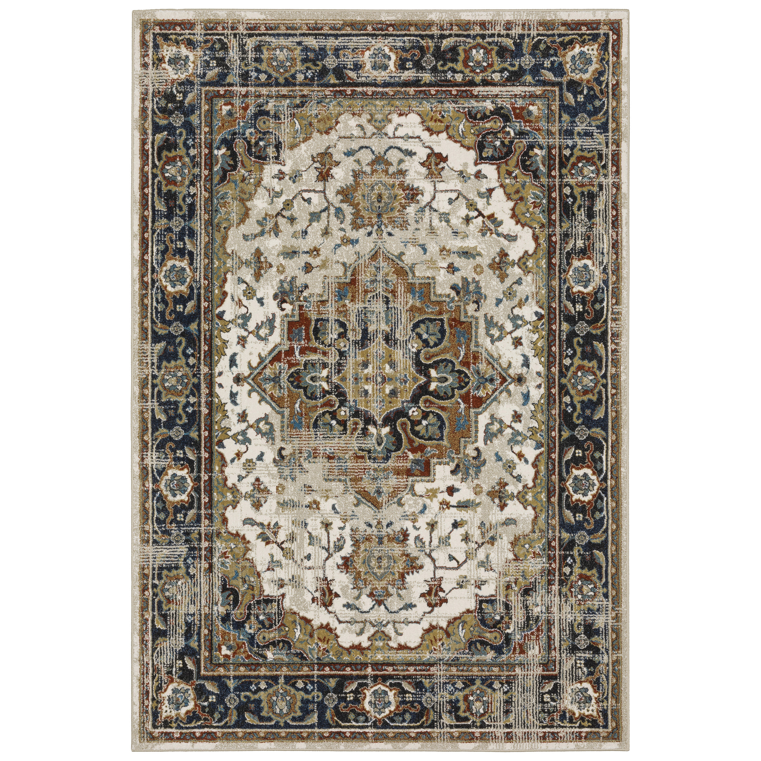 """VENICE 3'10"""" X  5' 5"""" Rug by Oriental Weavers at Jacksonville Furniture Mart"""