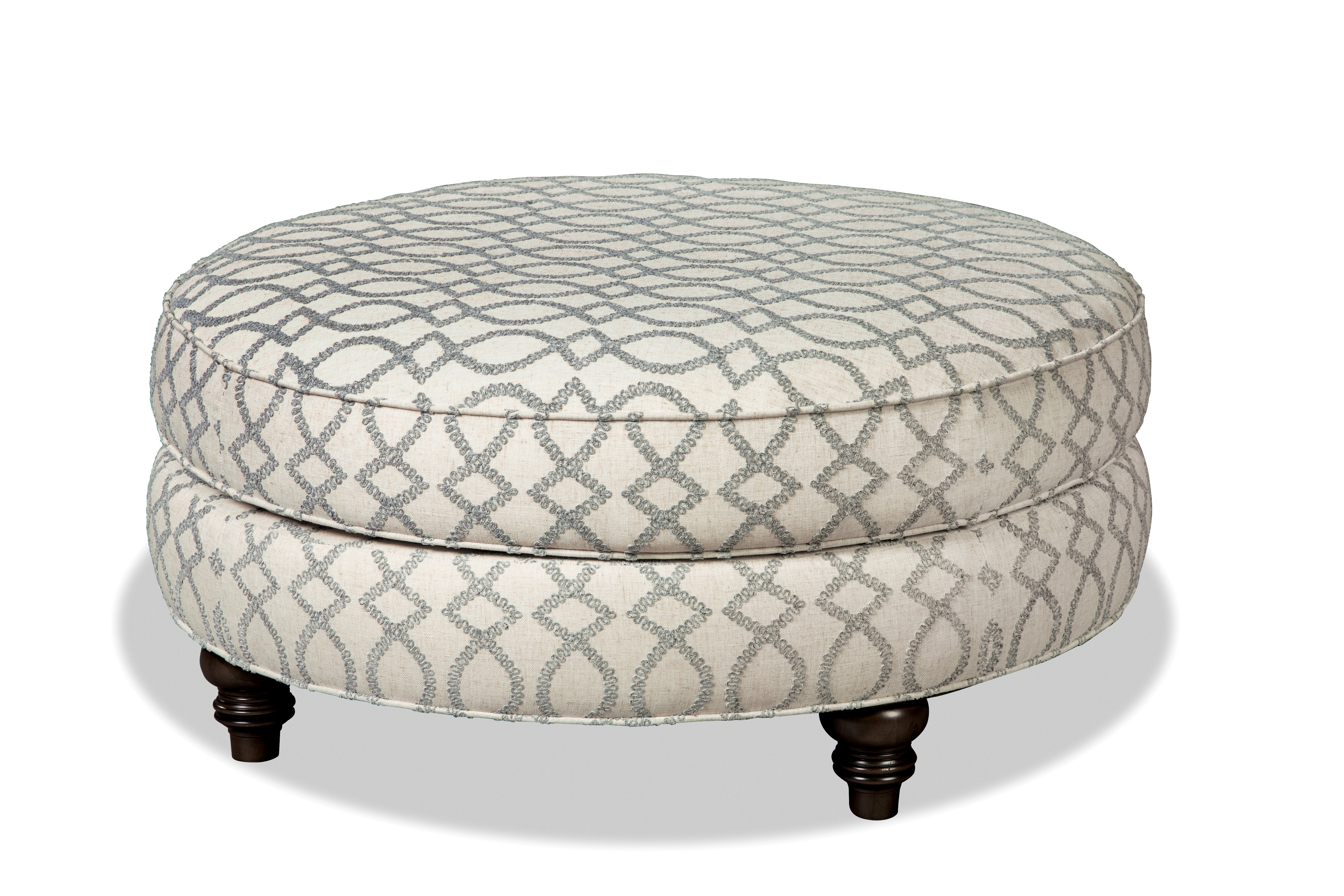 011500 Cocktail Ottoman by Craftmaster at Esprit Decor Home Furnishings