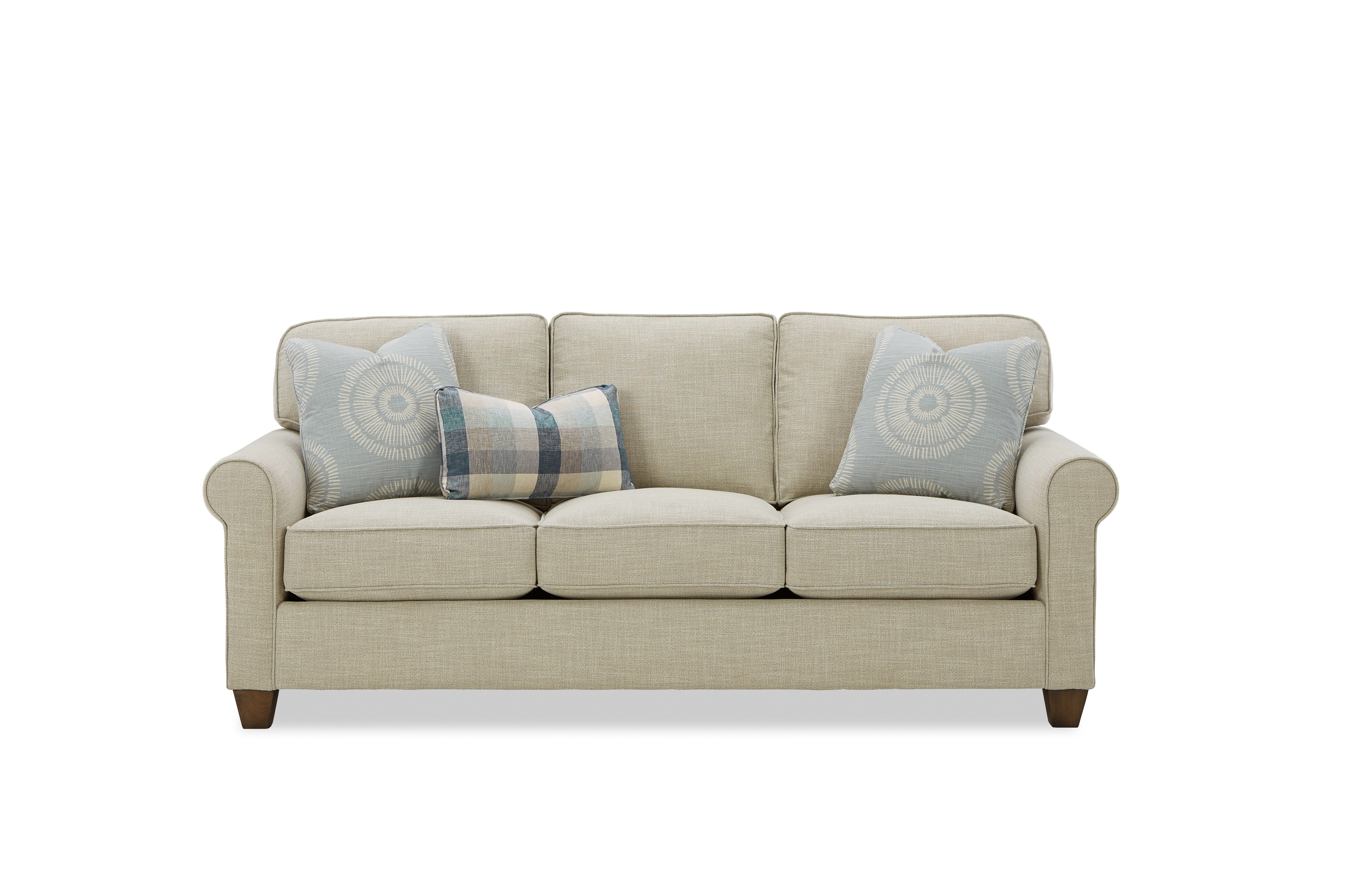717450 3-Seat Sofa by Hickory Craft at Godby Home Furnishings