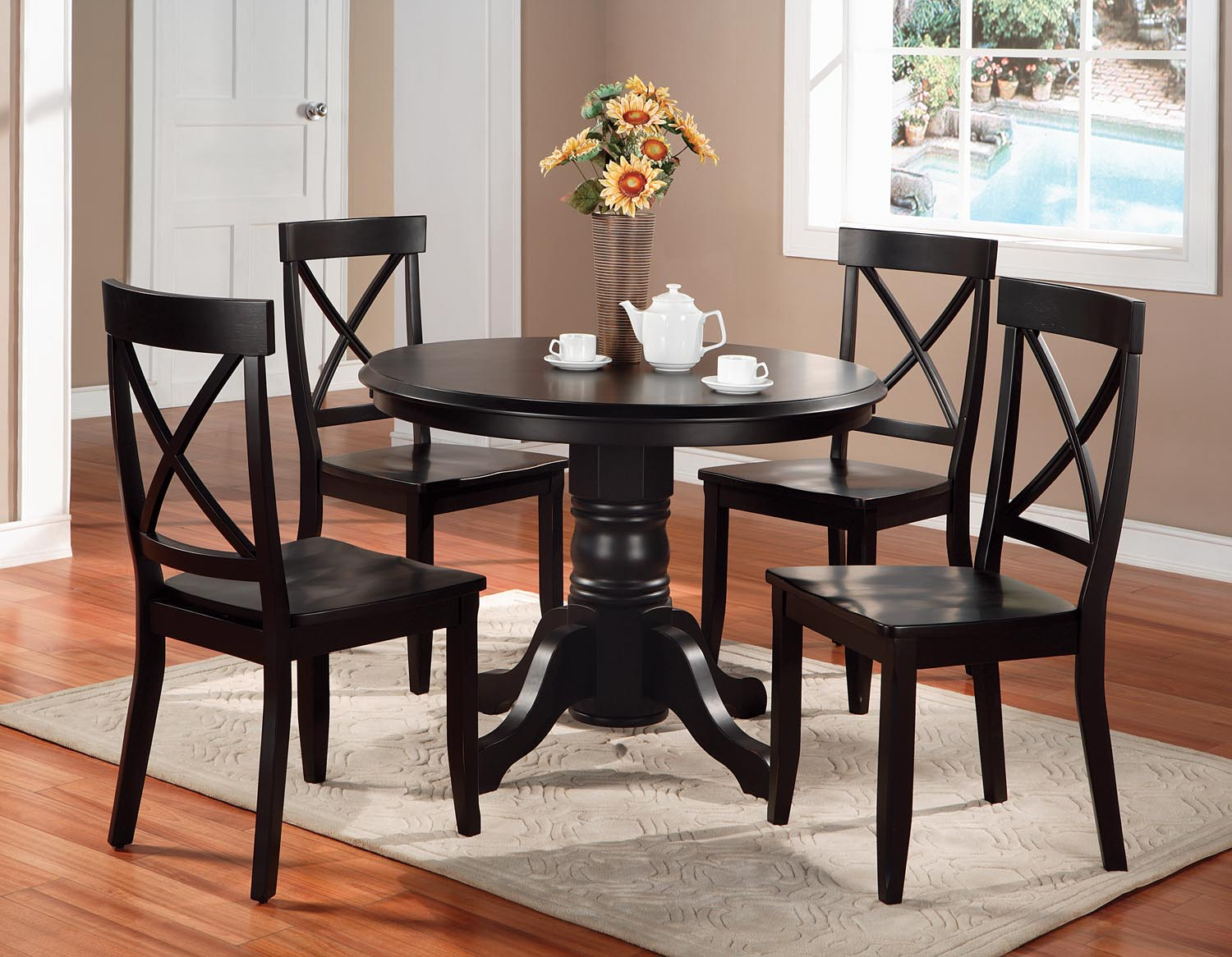 Blair 5-Piece Dining Set by homestyles at Suburban Furniture