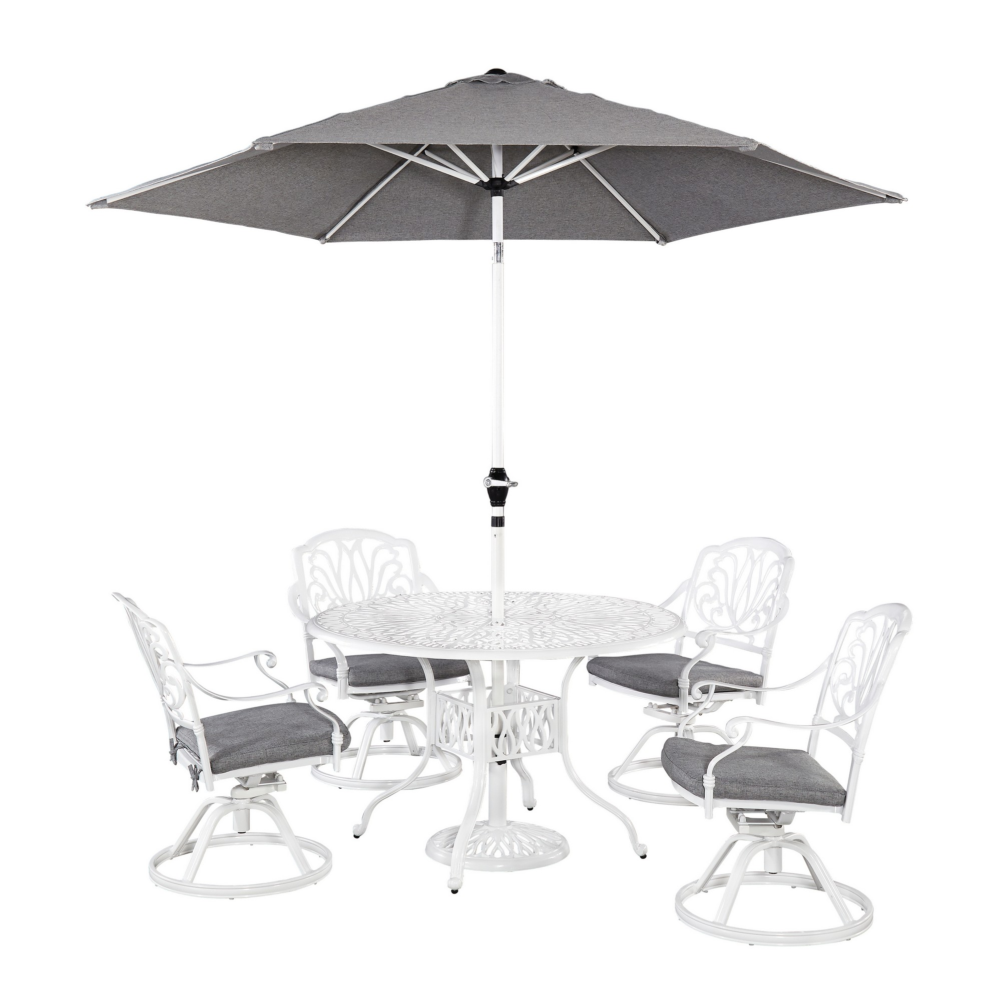 Capri 6 Piece Outdoor Dining Set by homestyles at Sam Levitz Outlet