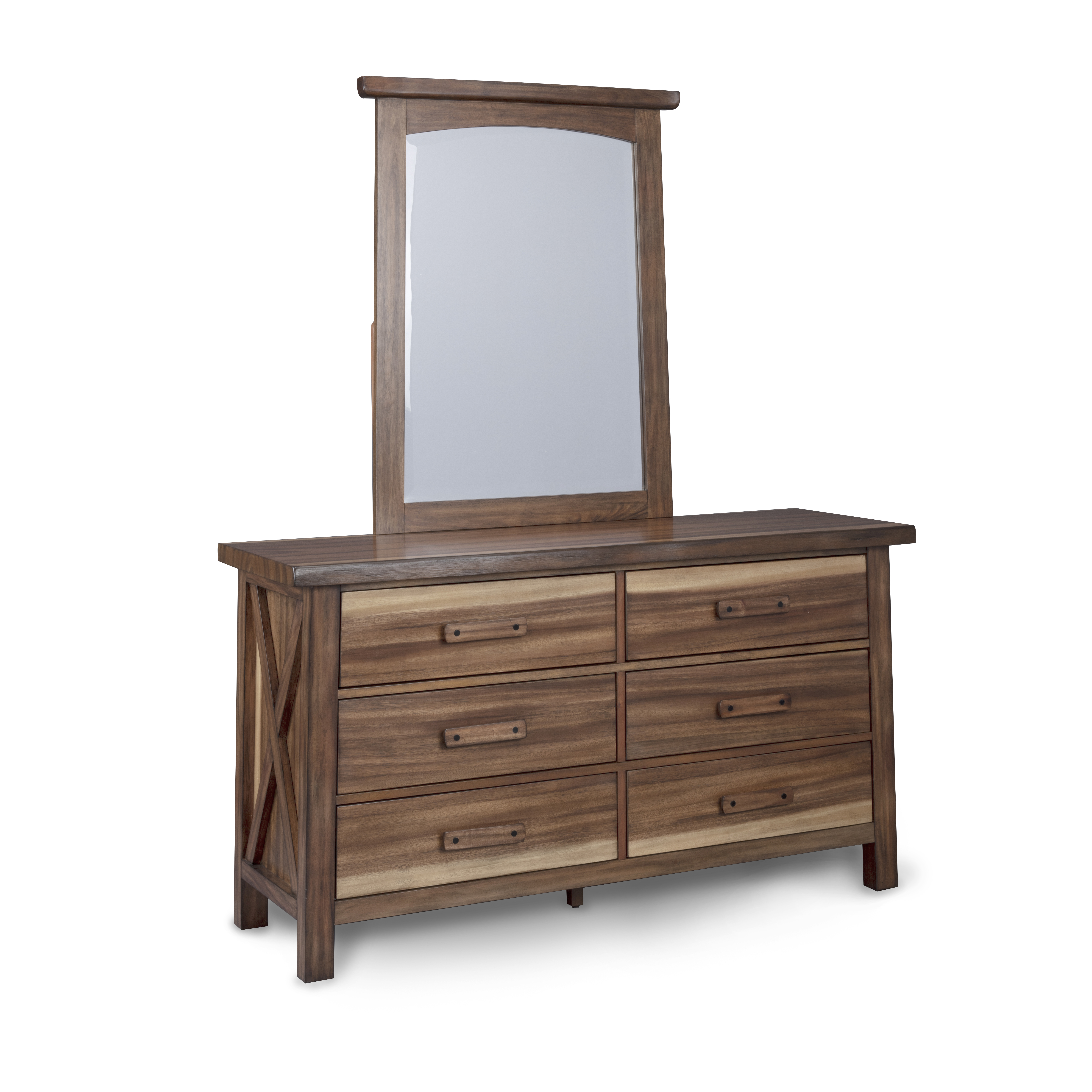 Forest Retreat Dresser and Mirror by homestyles at Godby Home Furnishings